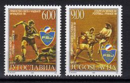 Yugoslavia,World Cup-France '98 1998.,MNH - 1992-2003 République Fédérale De Yougoslavie