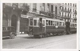 Photo - Tramway -OTL Lyon - Ligne Lyon Neuville - - Eisenbahnen
