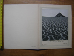 MENU 1939 Paquebot CHAMPLAIN Croisiere Medicale Islam Et Afrique Noire CGT Mont Saint Michel - Menus