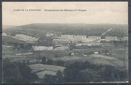 Camp De LA COURTINE - Baraquements Des Officiers Et 1 Brigade - La Courtine