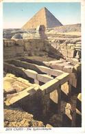 POSTAL    EL CAIRO  -EGIPTO  - THE SPHINXTEMPLE - El Cairo