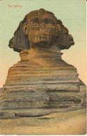 POSTAL    EL CAIRO  -EGIPTO  - THE SPHINX - El Cairo