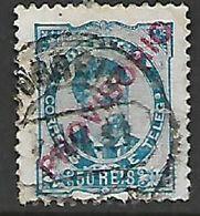 Portugal, 1892,  50 Reis Opt PROVISORIO, Used - Unused Stamps