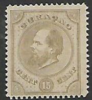 Curacao, 1873, 15 Cents, Unused, No Cancel, No Gum - Curacao, Netherlands Antilles, Aruba