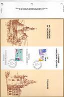 Encart Ambulant Routier Villefranche De Rouergue à Toulouse - Marcophilie (Lettres)