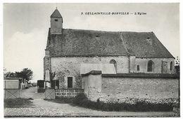 EURE ET LOIR  GELLAINVILLE-BONVILLE - L'église - Andere Gemeenten