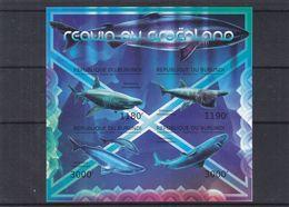 Requins - Burundi - COB BF 345 ** - MNH - NON Dentelé - Valeur 36 € - Burundi