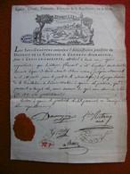 REVOLUTION GENIS LE PATRIOTE COMMUNE AFFRANCHIE ATTESTATION SANS CULOTTES 16 JUIN 1794 AUTOGRAPHE - Documentos Históricos