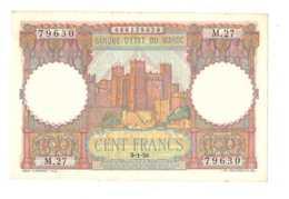 Maroc. Protectorat. Billet De 100 Francs Du 9-1-1950. - Marokko