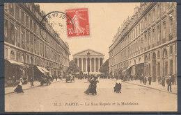 PARIS - La Rue Royale Et La Madeleine - France