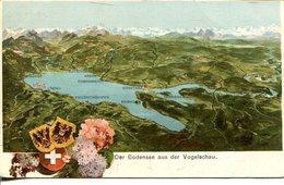 006868  Der Bodensee Aus Der Vogelschau - Duitsland