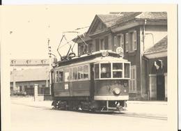 Photo - Tramway - Lieu à Localiser - En Gros Plan - Trains