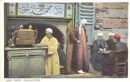 POSTAL    EL CAIRO  -EGIPTO  - ARABIAN COFFEE - El Cairo