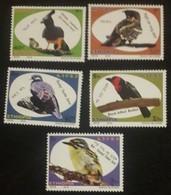Ethiopia Ethiopie Äthiopien NEW ISSUE 2019 Complete Set Of 5 MNH / ** Birds Oiseaux Vogels - Vogels