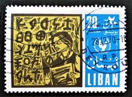 UNICEF 1969 - OBLITERE - YT 487 - Liban