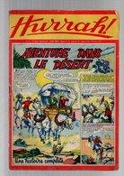 Hurrah N°85 Aventure Dans Le Désert - Robin Des Bois - Duck Hurricane - Ace - Yann - L'écusson D'or De 1955 - Hurrah