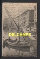 DD / 13 BOUCHES DU RHÔNE / MARSEILLE / LE QUAI DU CANAL / PÊCHEURS DANS LEUR BARQUE / ANIMÉE / 1903 - Puerto Viejo (Vieux-Port), Saint Victor, Le Panier