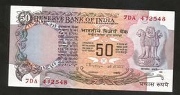 INDIA - RESERVE BANK Of INDIA - 50 RUPEES ( 1978 ) - India