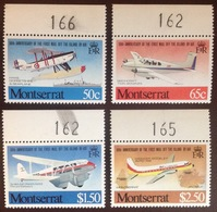 Montserrat 1981 Airmail Service Aviation Aircraft MNH - Montserrat