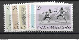 1952 MH Luxemburg, Ongebruikt - Unused Stamps