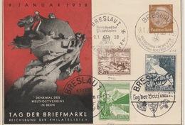 Deutshe Reich Tag Der Briefmarken Breslau1938?? - Brieven En Documenten