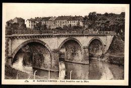 57 - SARREGUEMINES -  Pont Frontière Sur La Blies - Sarreguemines