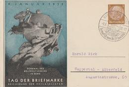 Deutshe Reich Tag Der Briefmarken 1938?? - Brieven En Documenten