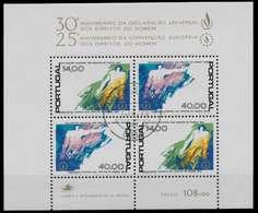 PORTUGAL Block 24 Zentrisch Gestempelt S018D8A - Blocks & Kleinbögen