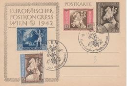 Deutshe Reich Postkongress Wien 1942?? - Brieven En Documenten