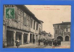 32 GERS - COLOGNE Vieille Maison Et La Place - Autres Communes