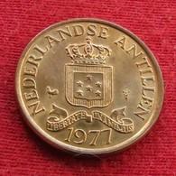 Netherlands Antilles 1 Cent 1977 KM# 8 UNC  Antillen Antilhas Antille Antillas - Antillen (Niederländische)