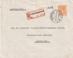 PAYS-BAS 1939 LETTRE RECOMMANDEE DE HERTOGENBOSCH - Period 1891-1948 (Wilhelmina)