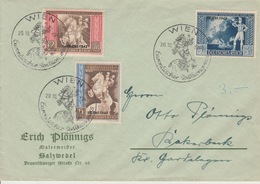 Deutshe Reich Postkongress Wien 10.1. 1942?? - Brieven En Documenten