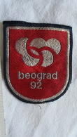 1992 BELGRADE CANDIDATE For OLYMPIC GAMES SPORT PATCH Yugoslavia SERBIA OLYMPICS OLYMPIADE OLYMPIAD FLICKEN PIÈCE MORCEA - Jeux Olympiques