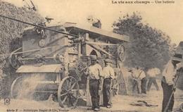 La Vie Aux Champs - Une Batterie - Batteuse - Héliotypie Dugas Nantes - Cecodi N'362 - Agriculture