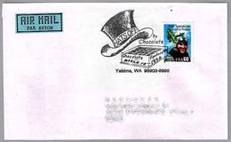 CHOCOLATE FANTASY STATION - HATS OFF TO CHOCOLATE. Yakima WA 1996 - Alimentación