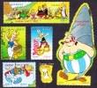 France Bandes Dessinées N° 4425, à 4430 ** 50 Ans D'Asterix La Tribu, Obélix, Le Chien Idéfix, Falbala, Assurancetourix - Bandes Dessinées