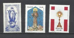Brasil. Sellos Religiosos. - Cristianismo