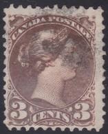 Canada  .  Scott  .  37d   .   12½x12½ ( M )   .    O    .  Cancelled     .   /    .  Gebruikt - 1851-1902 Regering Van Victoria
