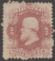 BRAZIL - 1866 20r Dom Pedro. Scott 54. Mint * - Ongebruikt