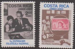 COSTA RICA - 1970 Philatelic Exhibition. Scott C502-503. MNH ** - Costa Rica