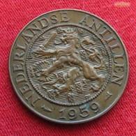 Netherlands Antilles 2 1/2 Cents 1959 KM# 5  Antillen Antilhas Antille Antillas - Antille Olandesi