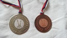 Snorkeling Diving Dive CUP Medal 2015 Finswimming Serbia Yugoslavia SWIM Water Mask Schwimmflossen Palmes De Natation - Buceo