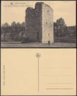 """CP Belgique Nil St Vincent """" La Tour Del Vaux De La Résidence Seigneuriale De Vaux """" (DD) DC 2199 - Walhain"""