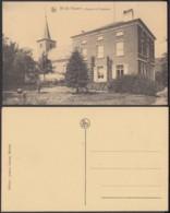"""CP Belgique Nil St Vincent """" L'église Et Le Presbytère """" (DD) DC 2200 - Walhain"""