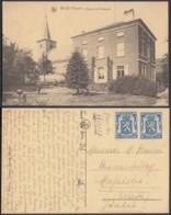 """CP Belgique Nil St Vincent """"L'église Et Le Presbytère """" (DD) DC 2202 - Walhain"""