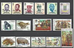 Guinea Ecuatorial. Sellos Nuevos Con Goma Original. - Sellos
