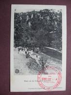 CPA 21 GEVREY CHAMBERTIN Parc De La Combe De Lavaux RARE PLAN ANIMEE Cachet Protection Sites 1922 Canton LONGVIC - Gevrey Chambertin