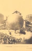 Paris - Montmartre - Le 14 Juillet Sur La Place Jules Joffrin - Ballon Dirigeable - Cecodi N'P 137 - Montgolfières