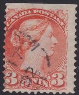 Canada  .  Scott  .  37    .   12x12 ( M )   .    O    .  Cancelled     .   /    .  Gebruikt - 1851-1902 Regering Van Victoria